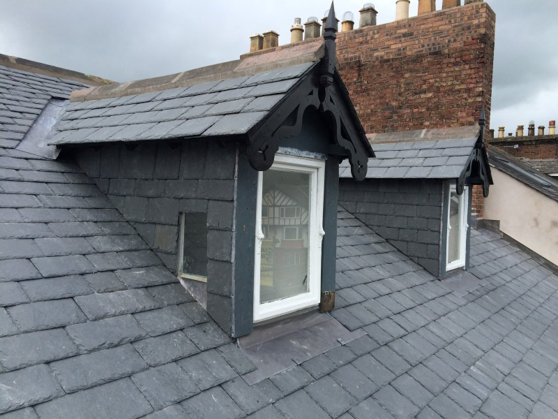 repairs and new installations of slate roofing in york